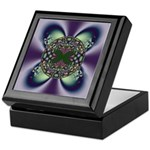 Stained Glass Butterfly Keepsake Box