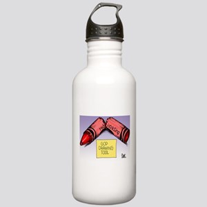 GOP Drawing Tool Stainless Water Bottle 1.0L