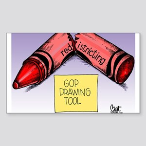 GOP Drawing Tool Sticker (Rectangle)