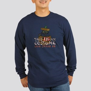 Costume Long Sleeve Dark T-Shirt