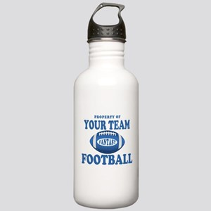 Property of Fantasy Your Team Blue Stainless Water