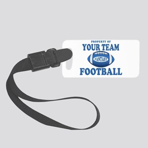 Property of Fantasy Your Team Blue Small Luggage T