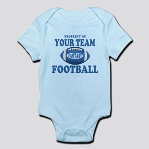 Property of Fantasy Your Team Blue Infant Bodysuit