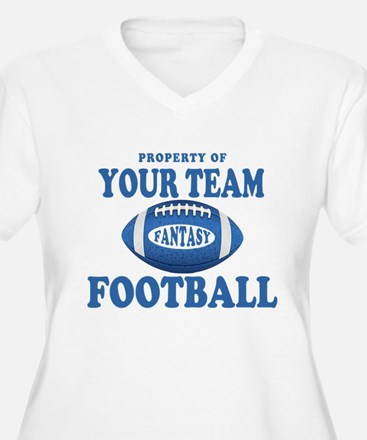Property of Fantasy Your Team Blue T-Shirt