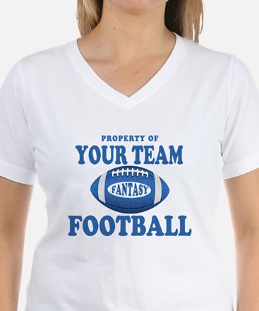 Property of Fantasy Your Team Blue Shirt