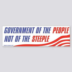 Govt of the People Sticker (Bumper)