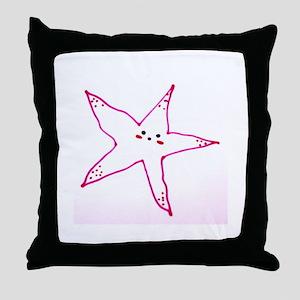 Cute Starfish Throw Pillow
