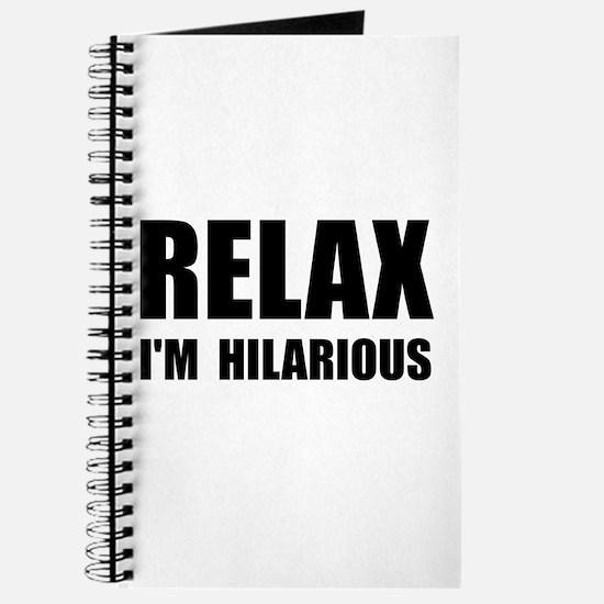 Relax Hilarious Journal