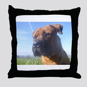 Boerboel's do it better! Throw Pillow
