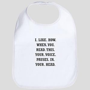 Voice Pause Bib