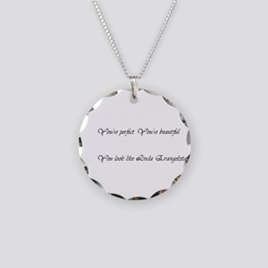 A product name Necklace Circle Charm