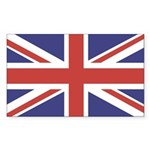 unionjack14 Sticker (Rectangle 10 pk)