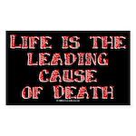 life.rect.sticker Sticker (Rectangle 10 pk)