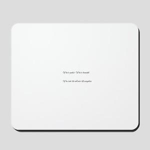 A product name Mousepad