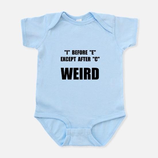 Weird Spelling Infant Bodysuit