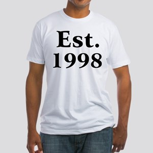 Est. 1998 Fitted T-Shirt
