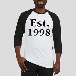 Est. 1998 Baseball Jersey