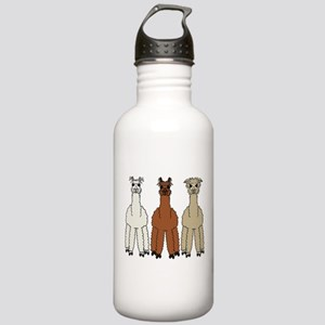 Alpaca (no text) Stainless Water Bottle 1.0L