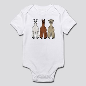 Alpaca (no text) Infant Bodysuit