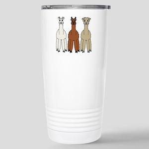 Alpaca (no text) Stainless Steel Travel Mug