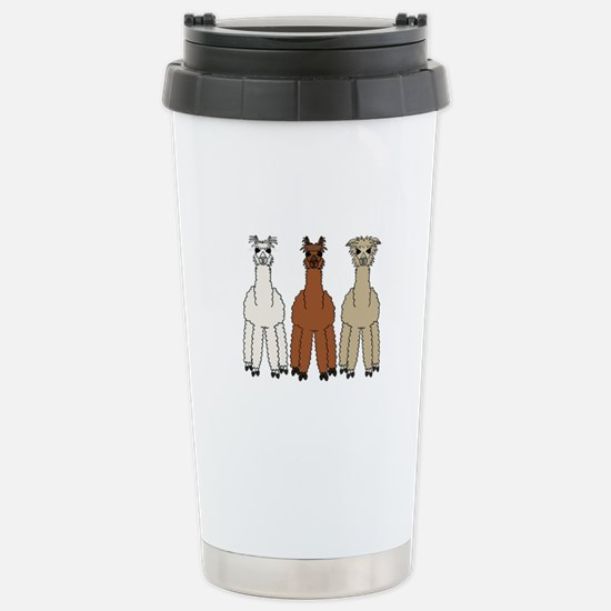 Alpaca (no text) Stainless Steel Travel Mug