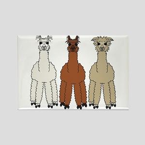 Alpaca (no text) Rectangle Magnet