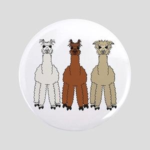 """Alpaca (no text) 3.5"""" Button"""