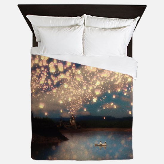 Unique Wishing stars Queen Duvet
