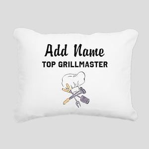 GRILLMASTER Rectangular Canvas Pillow