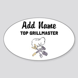 GRILLMASTER Sticker (Oval)