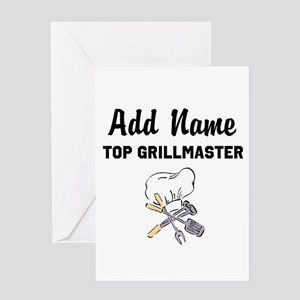 GRILLMASTER Greeting Card