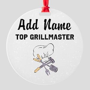GRILLMASTER Round Ornament