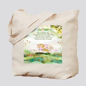 Ode to Mother Pig Tote Bag
