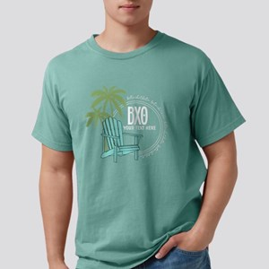 Beta Chi Theta Beach Cha Mens Comfort Colors Shirt