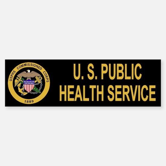 USPHS <BR>Bumper Car Car Sticker