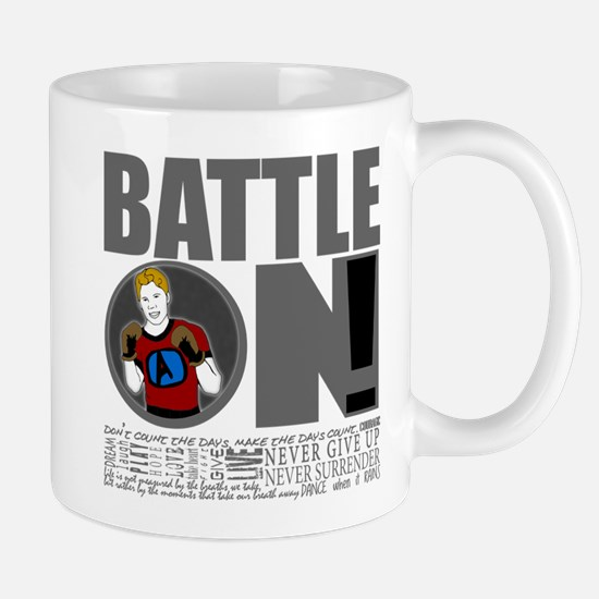 "Aaron Schulte ""Battle On"" Mug"