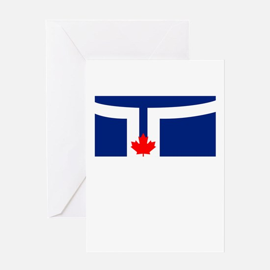 Torontomaple leafs logo greeting cards cafepress choose from thousands of cafepress torontomaple leafs logo greeting cards to add a personal touch beautiful design or inside joke to any occasion bookmarktalkfo Images
