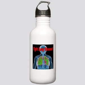 Fight Lung Disease Stainless Water Bottle 1.0L