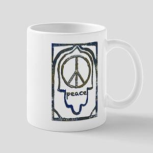 Hamsa Peace Mug