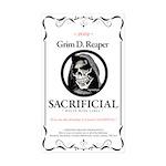 Sacrificial White Wine L Sticker (Rectangle 10 pk)