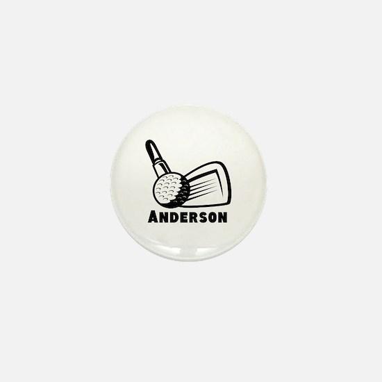 Personalized Golf Mini Button