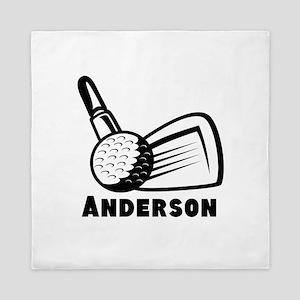 Personalized Golf Queen Duvet
