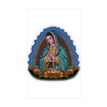 Lady of Guadalupe T1 Sticker (Rectangle 10 pk)