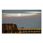 Prairie Moonscape Sticker (Rectangle 10 pk)