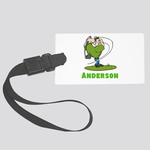 Personalized Golf Large Luggage Tag