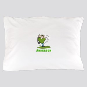 Personalized Golf Pillow Case