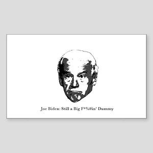 Joe Biden: BFD Sticker (Rectangle)