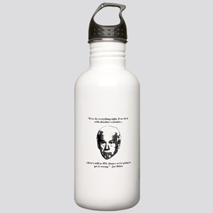 Joe Biden: 30% Chance Quote Stainless Water Bottle