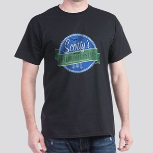 Scottys M-Class Dilithium Crystals Dark T-Shirt
