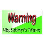 TailgatorBS2 Sticker (Rectangle 10 pk)